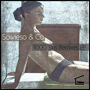 1000 Sins Remixes
