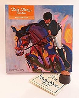 Woodford Reserve Premium Bourbon Balls in a Beautiful Equine Gift Box (16 Candies Per Box) delicious and perfect for holiday gifts