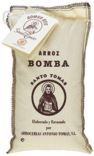 Arrocerías Antonio Tomás Santo Arroz Bomba D.O., 1er Pack (1 x 500 g)