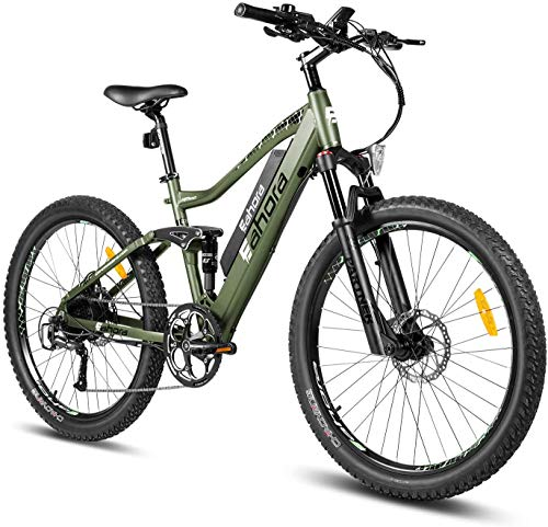 Our #6 Pick is the Eahora AM100 Electric Mountain Bike