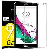 NEW'C Protector de Pantalla para LG G4 Mini, Antiarañazos, Antihuellas, Sin Burbujas, Dureza 9H, 0.33 mm Ultra Transparente, Vidrio Templado Ultra Resistente