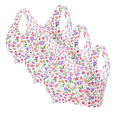 GQFDBS フルカップ ブラ 人気 ブラ コットン ブラ 猫背矯正 ブラ セクシー 服 婦人服 紐パン メイクアップブラ 新春 E 3枚組 XL