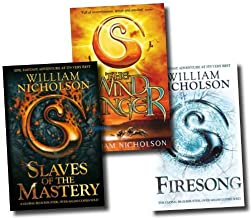 The Wind on Fire Trilogy 3 Books Collection set RRP £20.97 (The Wind Singer, Slaves of the Mastery, Firesong)