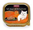 animonda Vom Feinsten Adult Katzenfutter, Nassfutter für ausgewachsene Katzen, mit Huhn in Karottensauce, 32 x 100 g