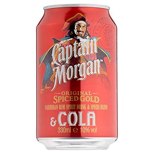Captain Morgan Original Spiced Gold & Cola, 330ml