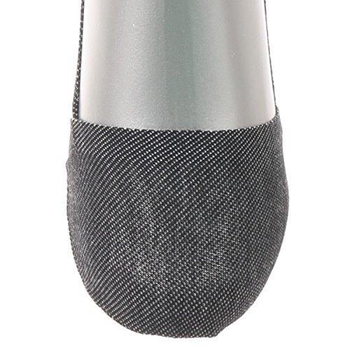 [アツギ] ATSUGI per UOMO(アツギパーウオモ) はきぐち浅め デニム調 足底クッション付 フットカバー 〈2足組〉 VPC6084 メンズ