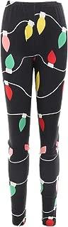 Womens Christmas Costume Leggings Sweatpants Lamb Printed High Waist Casual Skinny Stretch Yoga Pants
