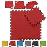 Tappetino Puzzle - Superficie del Tappeto 1m2-10m2, 16-160 Pezzi, Colore a Scelta - Tappet...