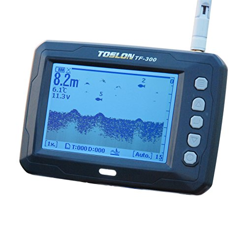 Toslon TF300 Echolot Futterboot Fishfinder Funkecholot Baitboat Wireless sonar