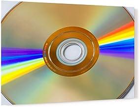 DVD Disk Light Refraction Acrylic Wall Art Photo Print Carl Chapman 1521 (60x40cm (23.6×15.7in))