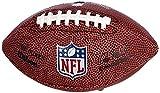 Wilson, American Football, Ballon de Football Américain, NFL Micro 'The Duke', Pour enfants, pour loisirs et collectionneurs, 17 x 10 cm, Brun, PVC, F1637