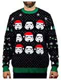 Star Wars Stormtroopers Ugly Christmas Sweater Men Women Holiday Sweater Large Multicolor