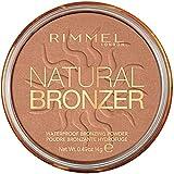 RimmelLondon –Natural Bronzer–Polvos bronceadora,marrón, pack de 2