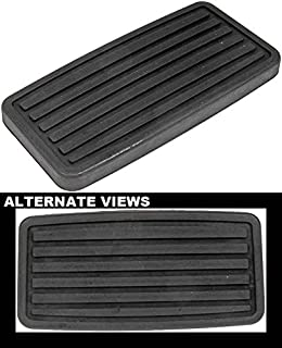 APDTY 31855 Brake Pedal Replacement Pad Fits Select 98-18 Honda & Acura Models (Automatic Models Only; Replaces 46545S84A81, 46545-S84-A81)