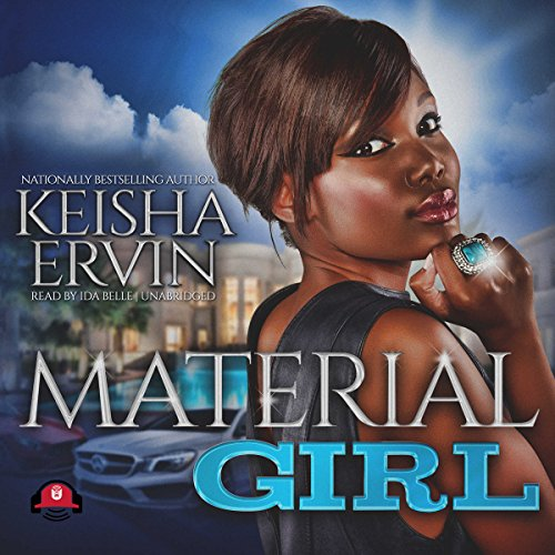 Material Girl Audiobook By Keisha Ervin,                                                                                        Buck 50 Productions - producer cover art
