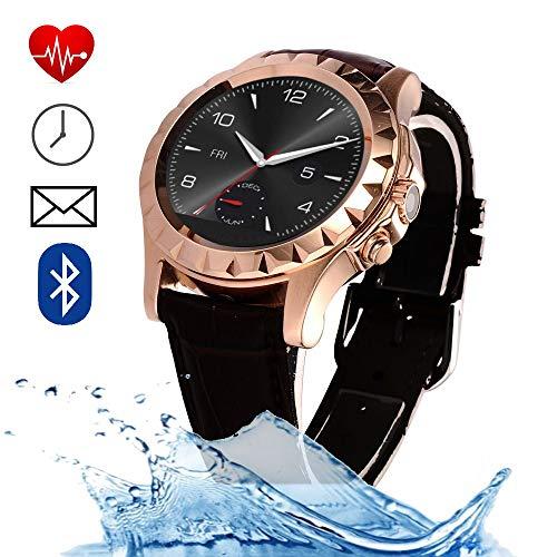 bestbeans BerryKing Dailygo 2020 oplaadbare smartwatch IP67-waterdicht bluetooth-berichten camerabediening, hartslagmeting, hartslagmeter, muziekcontrole