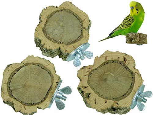 VogelKing 3 Korkast-Sitzscheiben