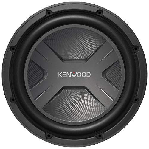 Kenwood KFC-W3041 12  300W RMS (2000W Peak Power) 4-ohm Impedance Component Car Subwoofer