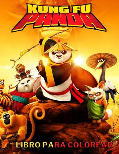 Kung Fu Panda Libro Para Colorare