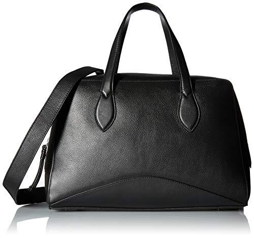Cole Haan Zero Grand Leather Satchel Handbag, Black