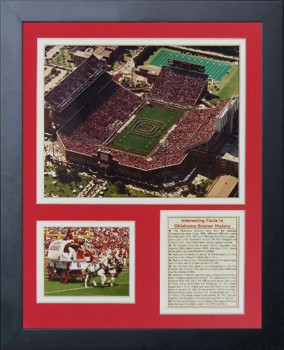 Oklahoma Sooners All Time Greats NCAA Framed 8x10 Photograph National Champs Collage