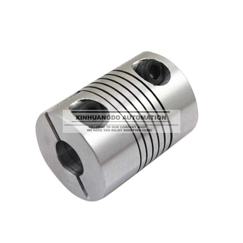 Inner Diameter: 10x10 Fevas 3pcs D32 L40 Motor Jaw Shaft Coupling bore 8mm 10mm 12mm 14mm 15mm 16mmChoose Two Same or Different Flexible Coupler