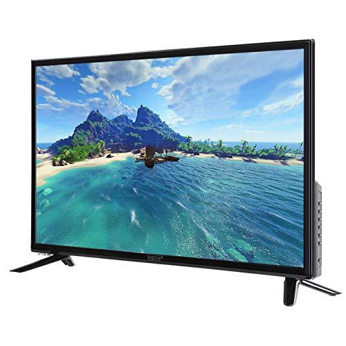 Gaeirt Smart T, Bisel Ultra Estrecho de 32'' TV de Alta Definición Matriz Final Control de luz Control de luz Diseño TV Inteligencia Artificial TV de Voz USB Decodificación de Rayos Azules(EU)