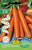 germisem carrot mix trio carote semi su nastro da 6 m