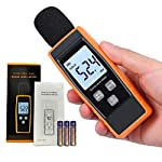 Decibel Meter Sound Level Reader -Digital dB SPL Portable Pressure Noise Volume Measurement Device | Voice Loudness Measuring Sensor Audio Tester -Momenturn