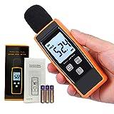 Decibel Meter Sound Level Reader -Digital dB SPL Portable Pressure Noise Volume Measurement Device | Voice Loudness Measuring Sensor Audio Tester -Momenturn