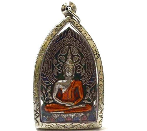 Jewelry Pendants Blessing Buddha Phra Prog Poh Amulets Lucky Buddha Thai Buddhism Amulets Collection Pendant Wat Paa Laylai Temple Thailand