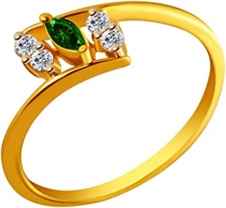 P.C. Chandra Jewellers 14KT Yellow Gold Ring for Women