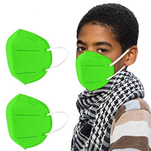 BOOMJIU 10 Stück Kinder - Bunt (007,Green)