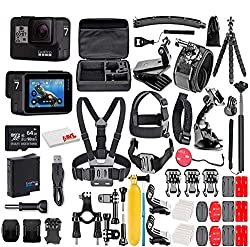 cheap GoPro HERO7 Black – E-Commerce Package – Waterproof Touch Screen Action Camera, 4K HD…