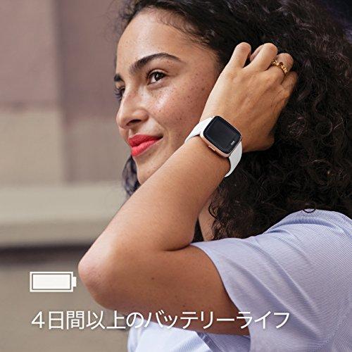 FitbitVersaスマートウォッチCharcoalL/SサイズFB505BKGY-CJK