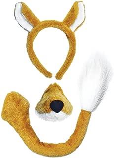 Bristol Novelty Fox Costume Accessory Set and Sound