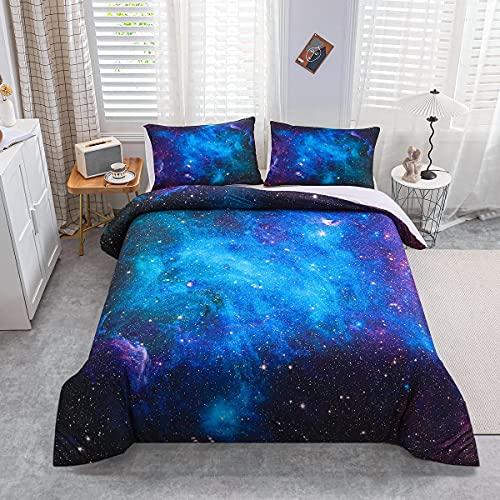 Homemissing Galaxy Outer Space Dekbedovertrek Sterrennevel Dekbed Universe Galaxy Trooster Cover Astronomie Astrologie…