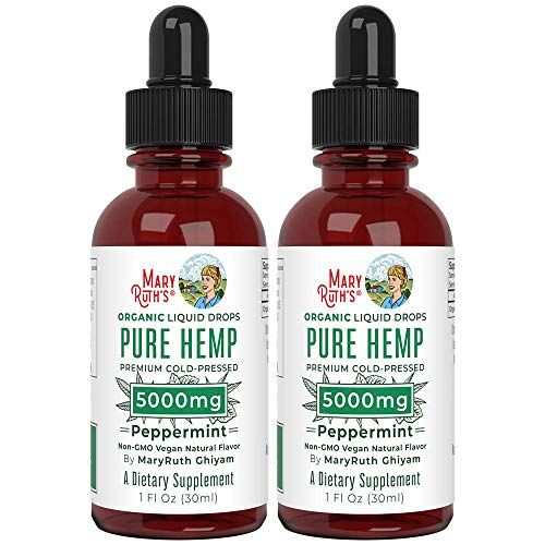 Pure Hemp Oil Extract (2 Pack) 5000mg by MaryRuth