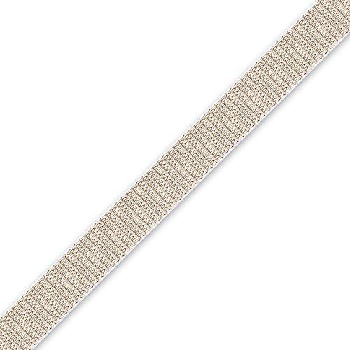 Rolladengurt 22 mm breit, 12 m lang, verfügbare Farben: beige oder grau, Rolladen Gurtband, von EVEROXX, Farbe:beige