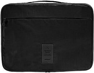 クロース(Kroeus)ワイシャツケース コンパクト 防水 ビジネス 旅行 出張 2~4枚収納 折り畳み板 ネックサポーター シャツ固定クリップ