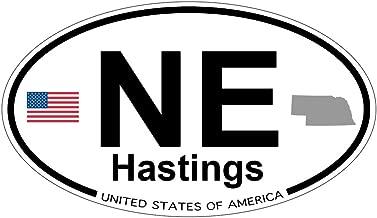 Hastings, Nebraska Oval Magnet