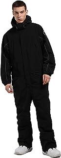 One Piece Ski Suit Mens Women Ski Jacket Snowsuit Jacket Winter Waterproof Warm Skiing Outwear