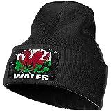 Bonnet Bonnets Bonnet Drapeau Pays De Galles Joueur De Football Rugby Bonnet Bonnet Chapeau Hommes Femmes Bonnets en Tricot Bonnet Stretch & Doux