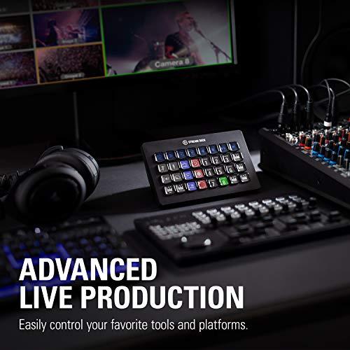 『CORSAIR elgato STREAM DECK XL ライブコンテンツ作成コントローラー メーカー保証2年 USB3.0 LCDボタン:32個 10GAT9901』の5枚目の画像