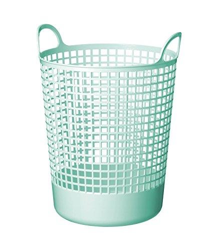 Like-It SCB-10 Scandinavia Style Big Round Basket, 14.96 x 16.14 x 20.47, Mint Blue