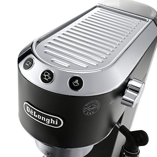De'Longhi EC685BK America Dedica Deluxe Espresso Machine, Black