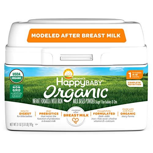 Happy Baby Organic Infant Formula Product Image