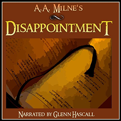 Disappointment audiobook cover art