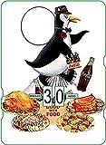 Calendario perpetuo Vintage CocaCola 'Smart Birds Go For Coke'