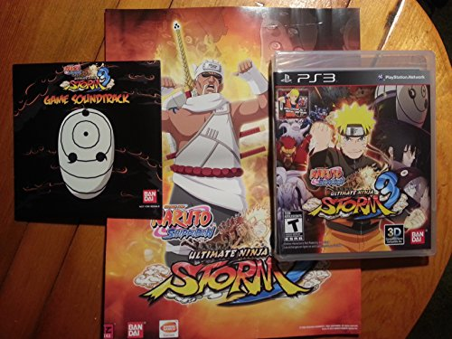 Naruto Shippuden Ultimate Ninja Storm 3: Collector's Will of Fire Edition PS3 for Sony Playstation 3